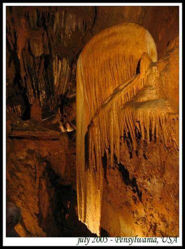 Zdjęcia: jaskinie w Apallachach, Pensylwania, Skrzydlo Aniola, USA