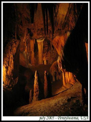 Zdjęcia: jaskinie w Apallachach, Pensylwania, Podziemna kraina, USA