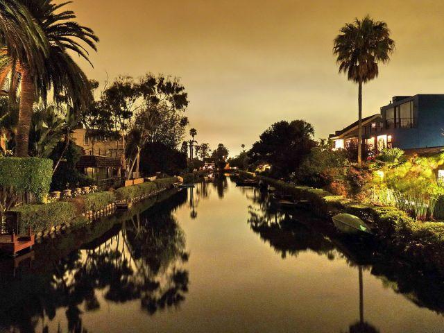 Zdjęcia: Los Angeles, California, Venice Channels L.A, USA