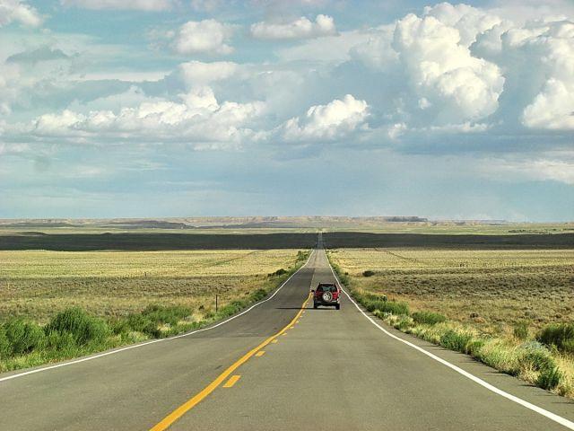 Zdjęcia: Droga, Arizona, Niekończąca się droga, USA