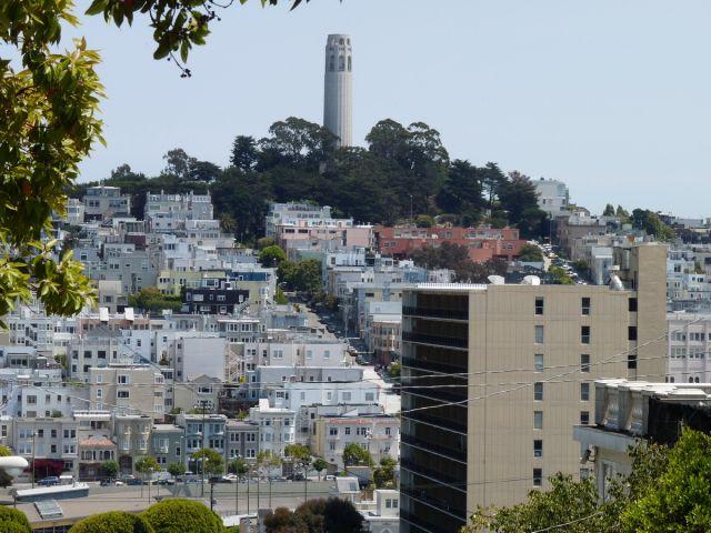 Zdjęcia: San Francisco, California, Coit Tower, USA