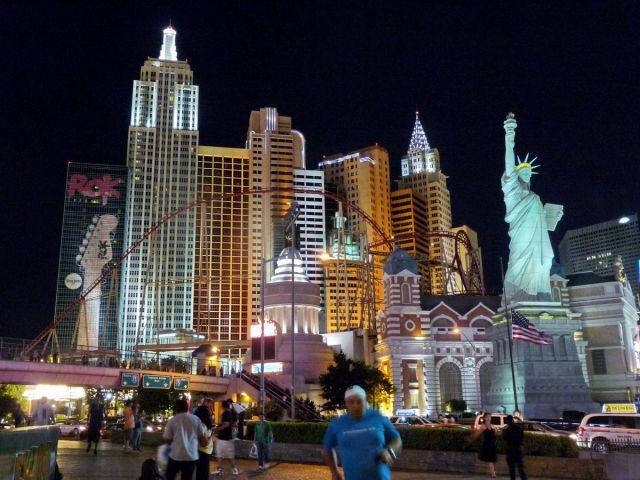 Zdjęcia: Las Vegas, Nevada, Panorama Manhattanu w Vegas, USA