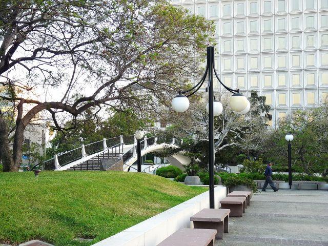 Zdjęcia: Los Angeles, California, Park w downtown LA, USA