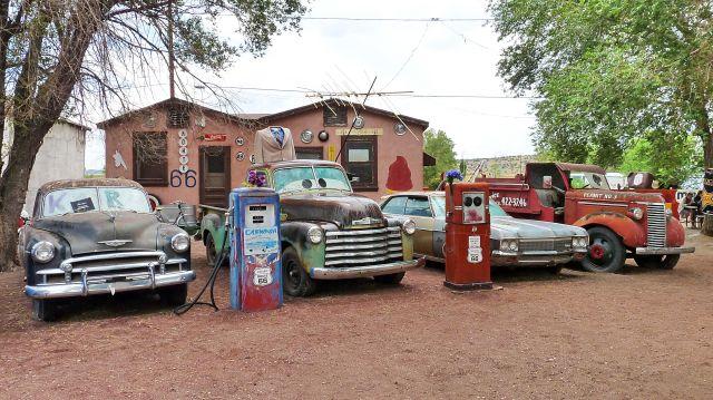 Zdjęcia: Route 66, Arizona, Skansen przy drodze 66 , USA