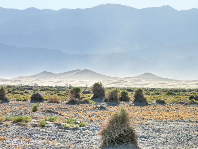 Zdjęcia: Death Valley NP, California, Piaskownica na pustyni, USA