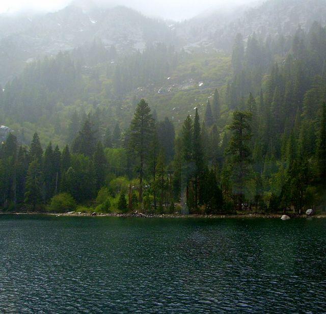 Zdjęcia: Lake Tahoe, Nevada, w zatoce Emerald Bay na Lake Tahoe, USA