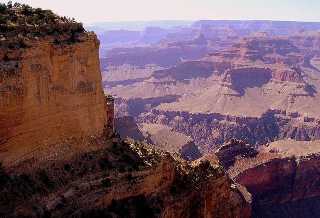 Zdjęcia: południowa krawędż Grand Canyon, Arizona, Grand Canyon - bliżej ......., USA