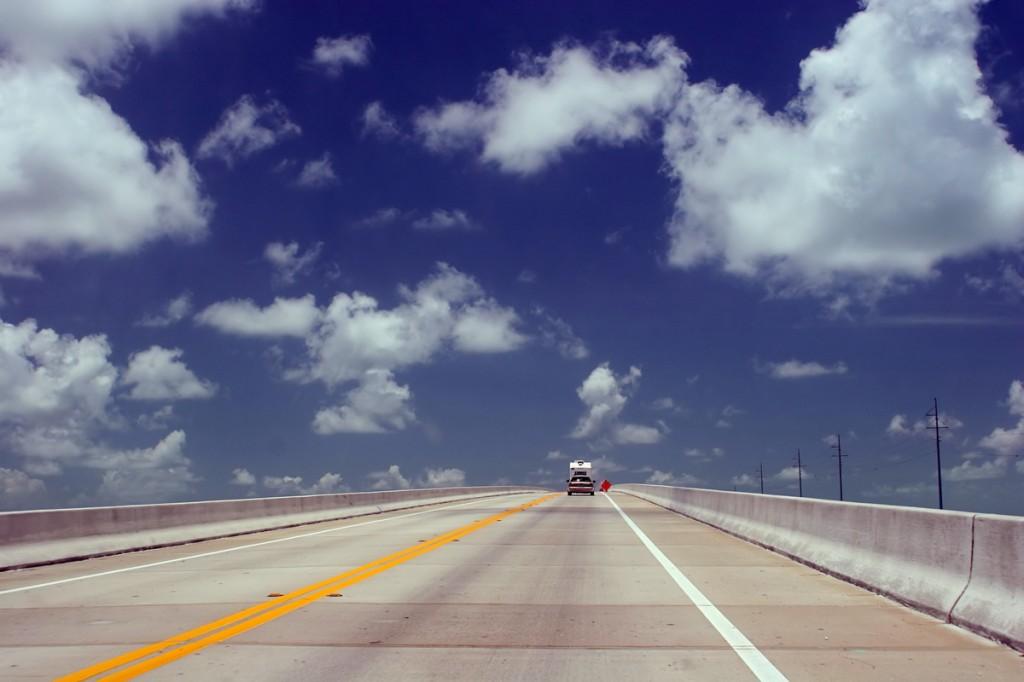 Zdjęcia: okolice Nowego Orleanu, Luizjana, Autostrada do nieba ;-), USA