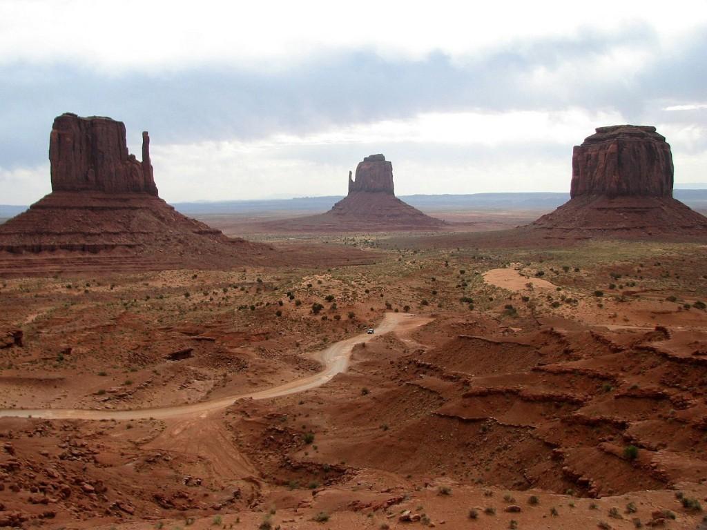 Zdjęcia: Monument Valley, Arizona/Utah, Skalne pomniki, USA