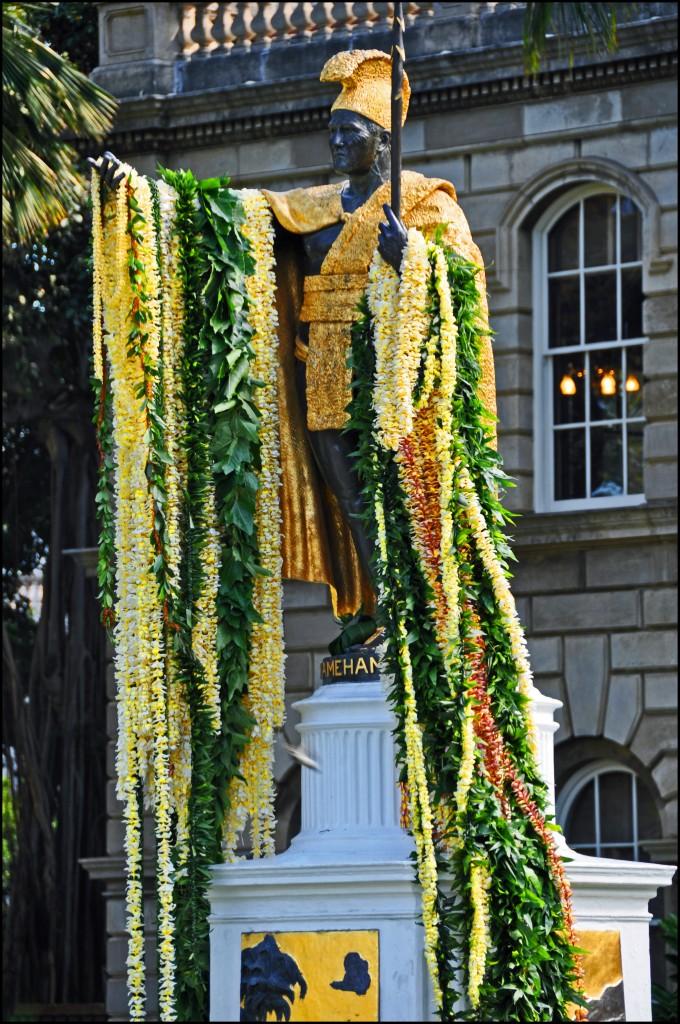 Zdjęcia: Honolulu, Oahu, Kamehameha I, USA