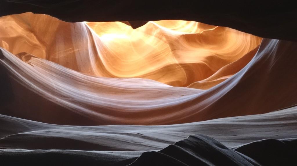 Zdjęcia: Kanion Antylopy, Arizona, Antelope - ten sam jeszcze raz, USA