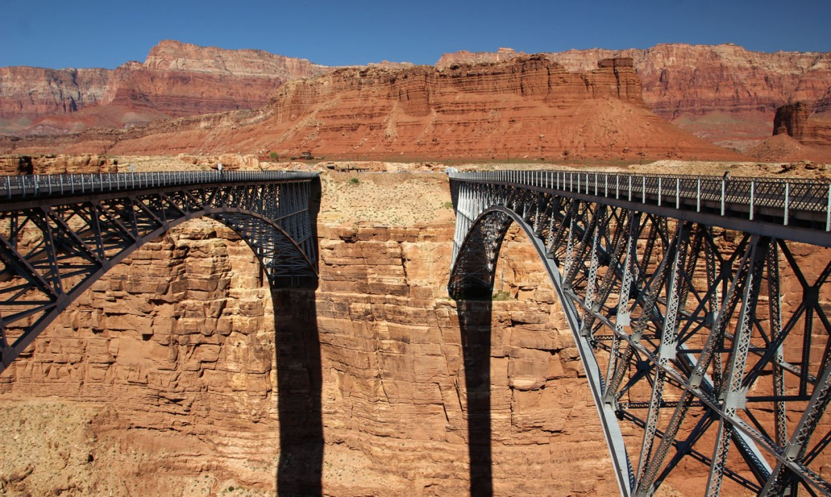 Zdjęcia: U.S. Route 89A, Arizona, Navajo Bridge, USA