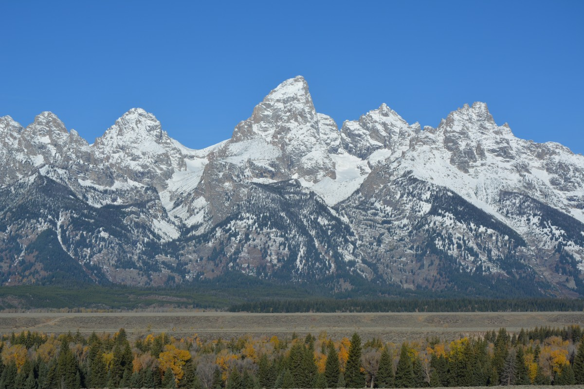 Zdjęcia: PN Grand Teton, Wyoming, Grand Teton, USA