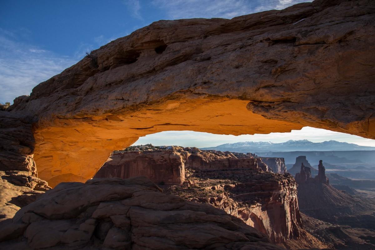 """Zdjęcia: Canyonlands, Utah, Okno na """"Amerykę"""" ;), USA"""