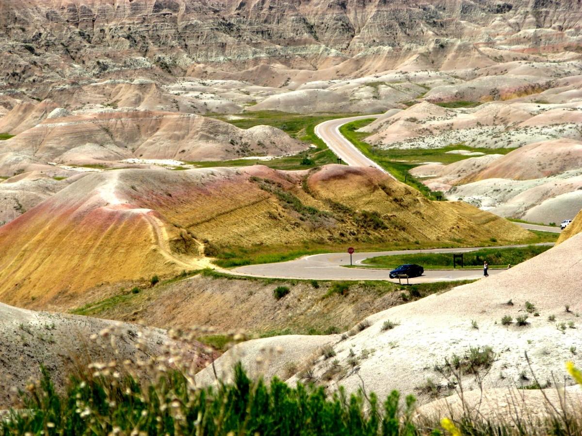 Zdjęcia: badlands national park, South Dacota, Badlands National Park, USA