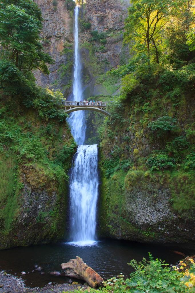 Zdjęcia: Okolice Columbia River, Oregon, Multnomah Falls, USA