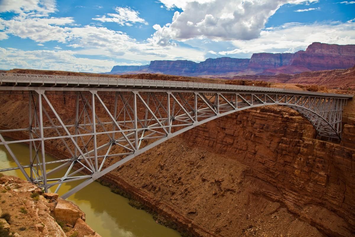 Zdjęcia: Hwy89, Utah, Navajo Bridge, USA