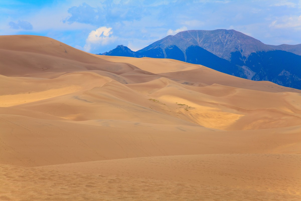 Zdjęcia: Great Sand Dunes National Park, Colorado, Great Sand Dunes National Park, USA