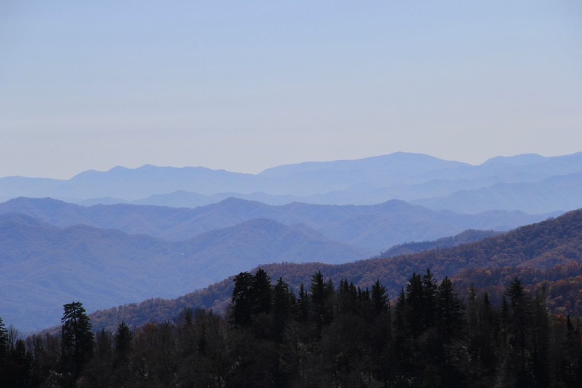 Zdjęcia: Great Smoky Mountains , Tennesie,  szare Smoky Mountains , USA