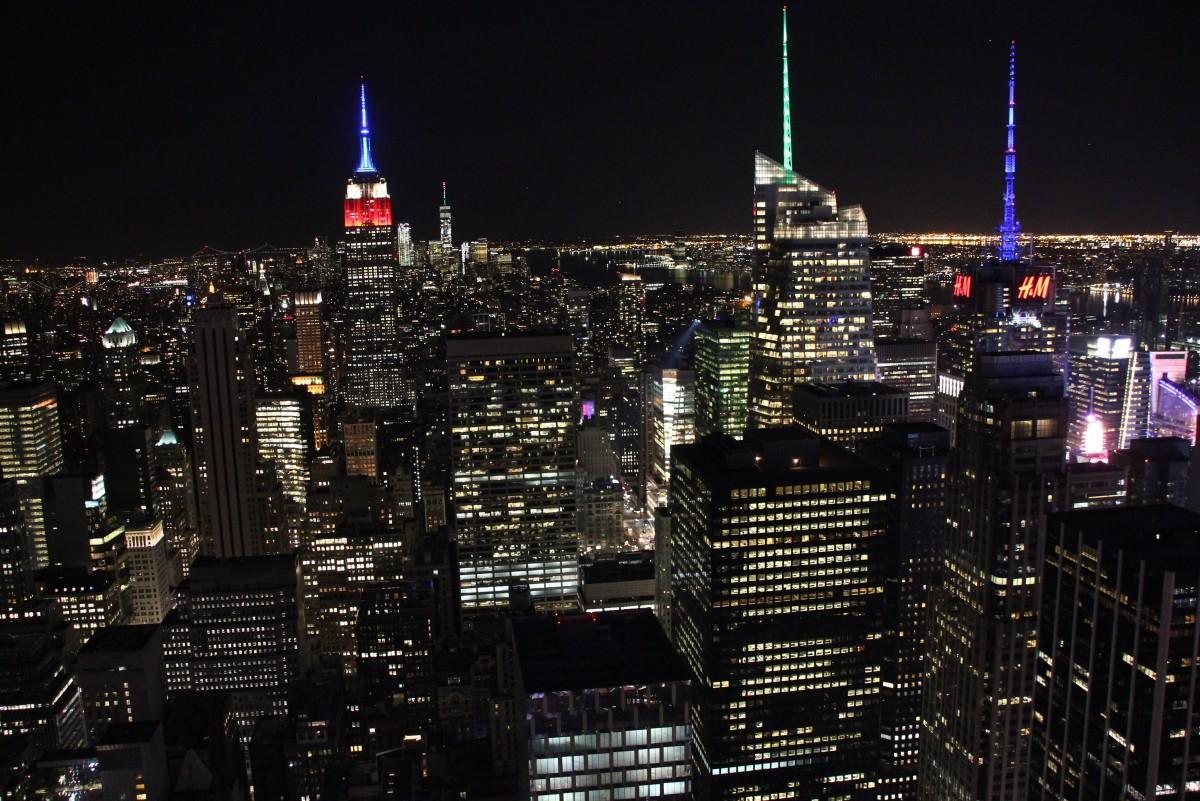 Zdjęcia: Manhattan, New York, Manhattan z Rockefeler Center, USA