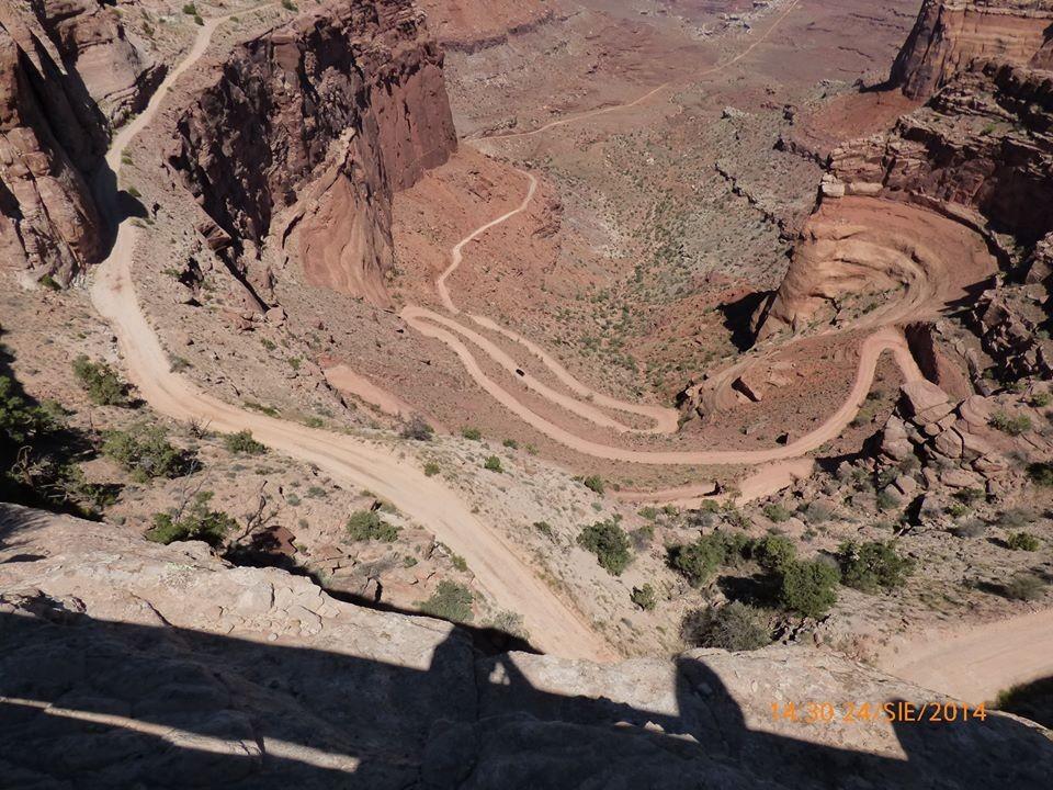 Zdjęcia: Canyonlands NP, UTAH, Shaffer Trail, USA