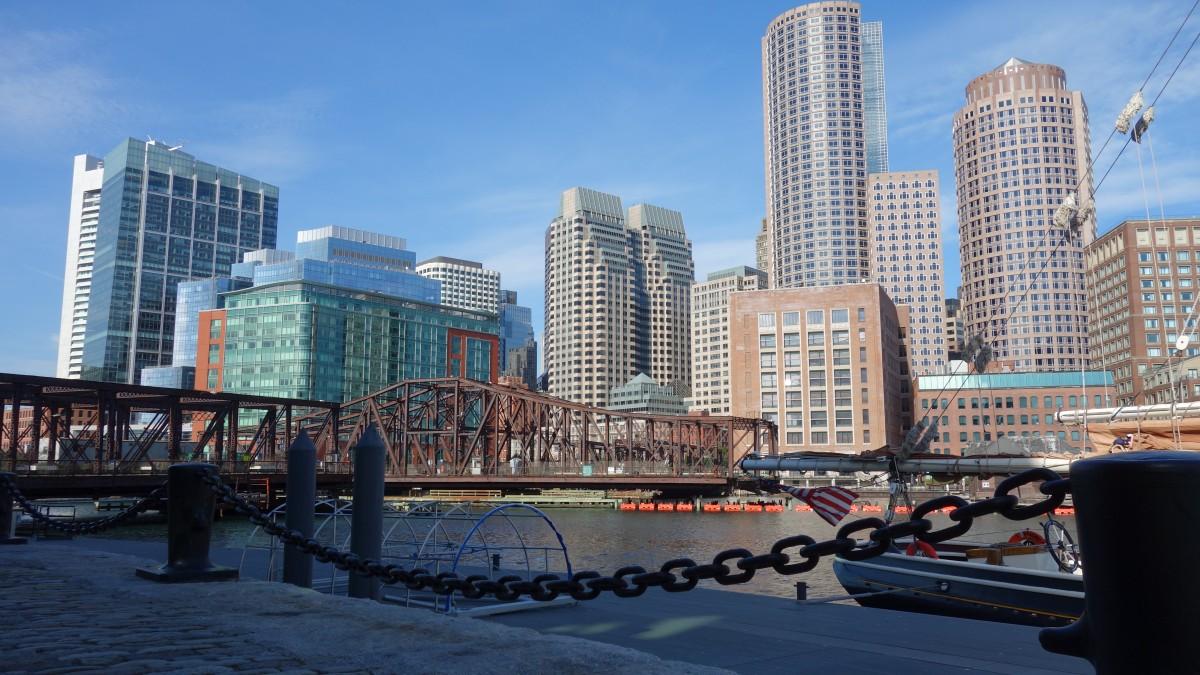 Zdjęcia: Boston, Massachusetts, Harborwalk, USA
