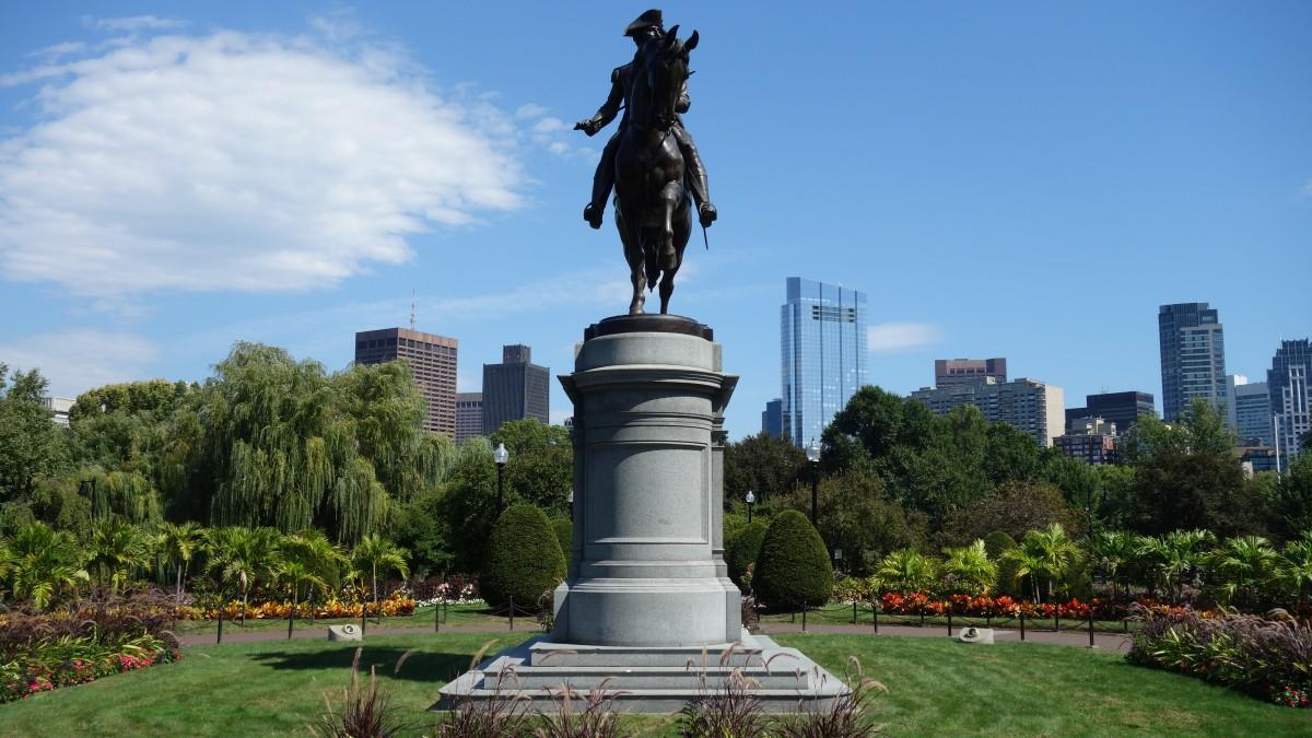 Zdjęcia: Boston, Massachusetts, Boston Public Garden, USA
