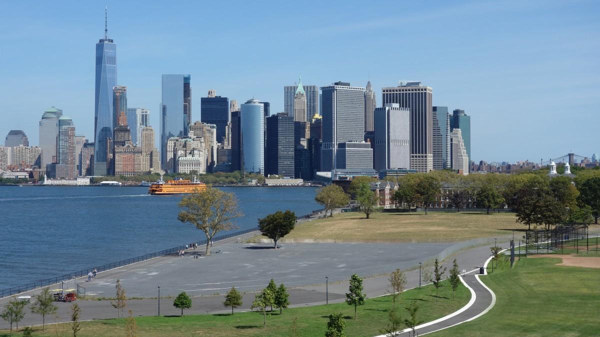 Zdjęcia: Governors Island, Nowy Jork, Lower Manhattan, USA