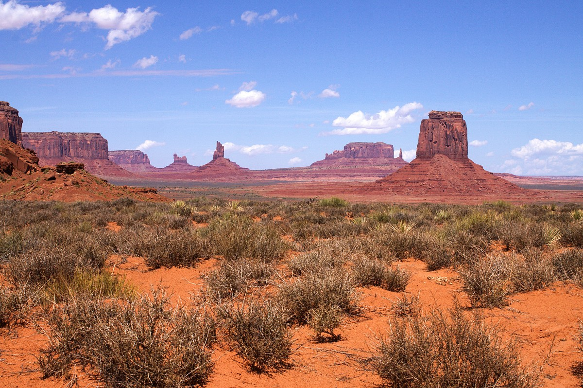 Zdjęcia: Dolina Monumentów, Arizona, Monument Valley Navajo Tribal Park, USA