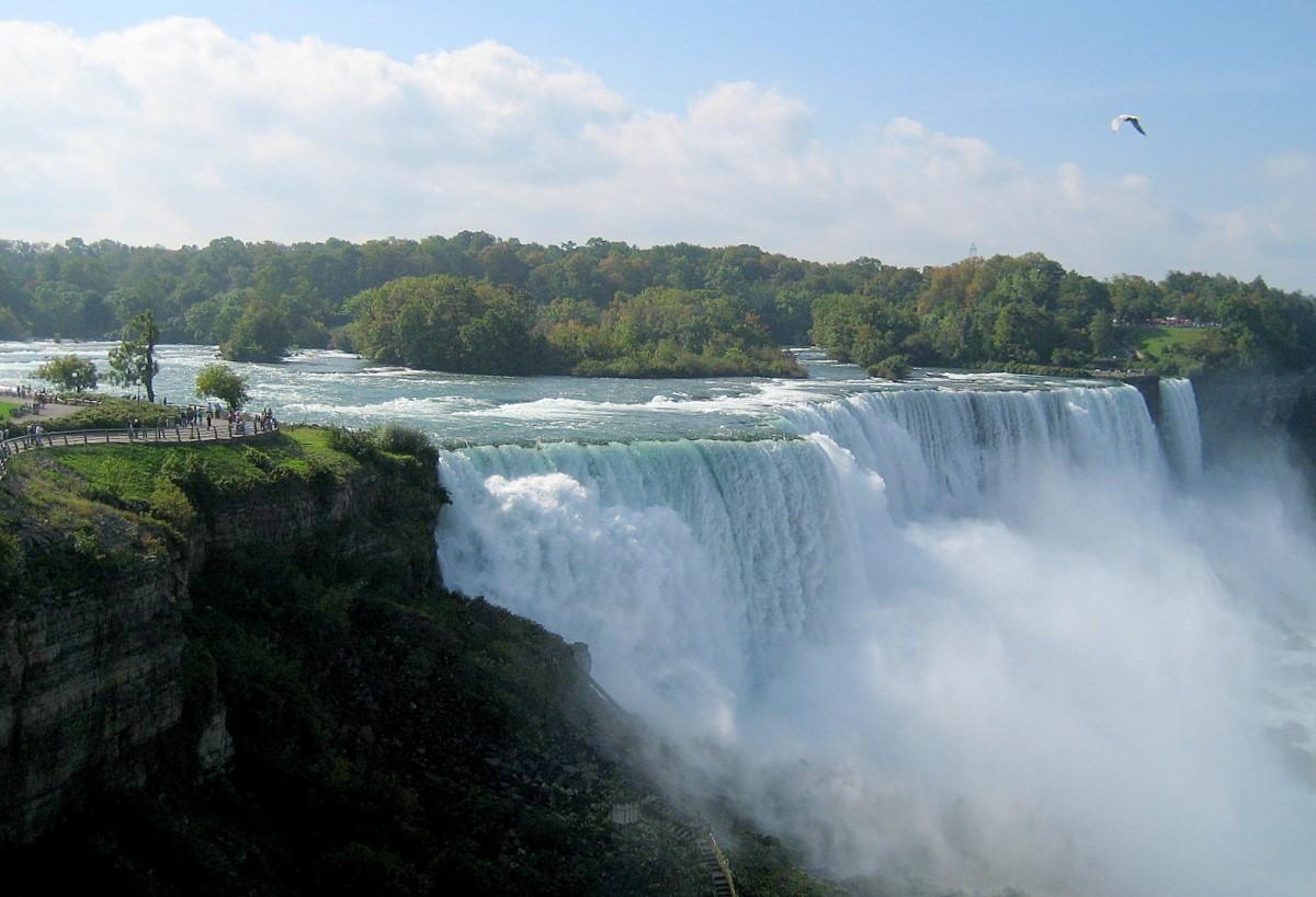 Zdjęcia: na granicy USA i Kanady,  Niagara Falls..., USA
