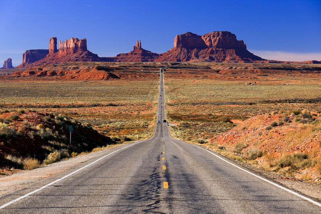 Zdjęcia: Monument Valley, Utah, Poranek w MV, USA