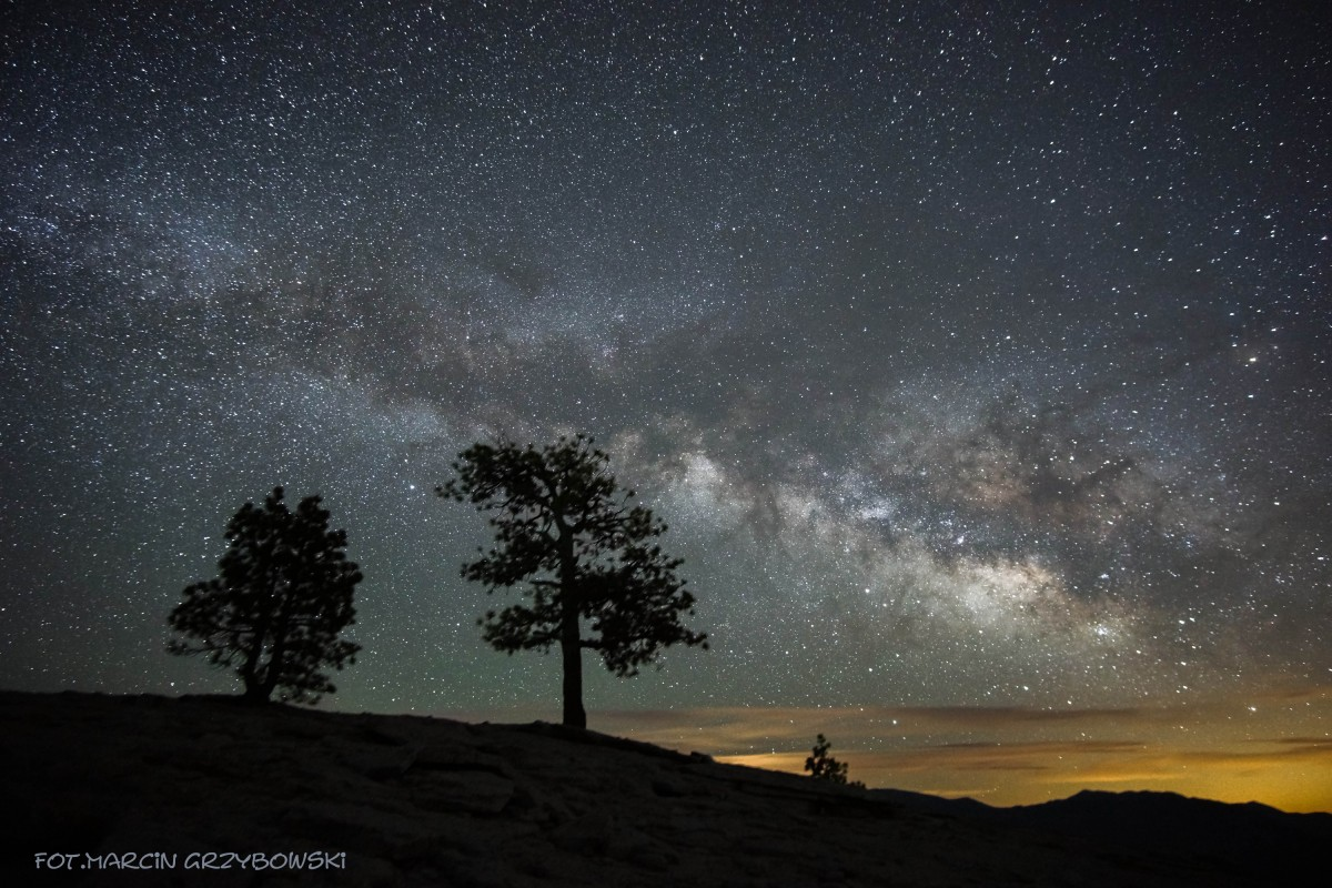 Zdjęcia: Yosemite, Kalifirnia, Noc, USA