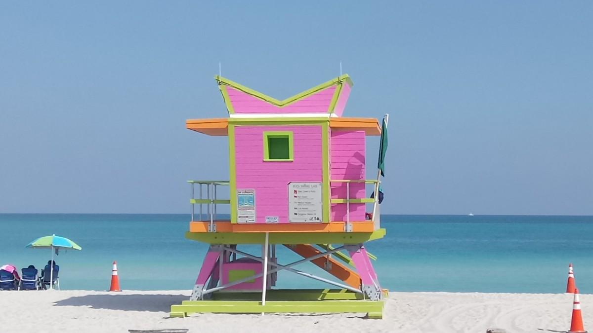 Zdjęcia: Miami Beach, Floryda, Słoneczny patrol, USA