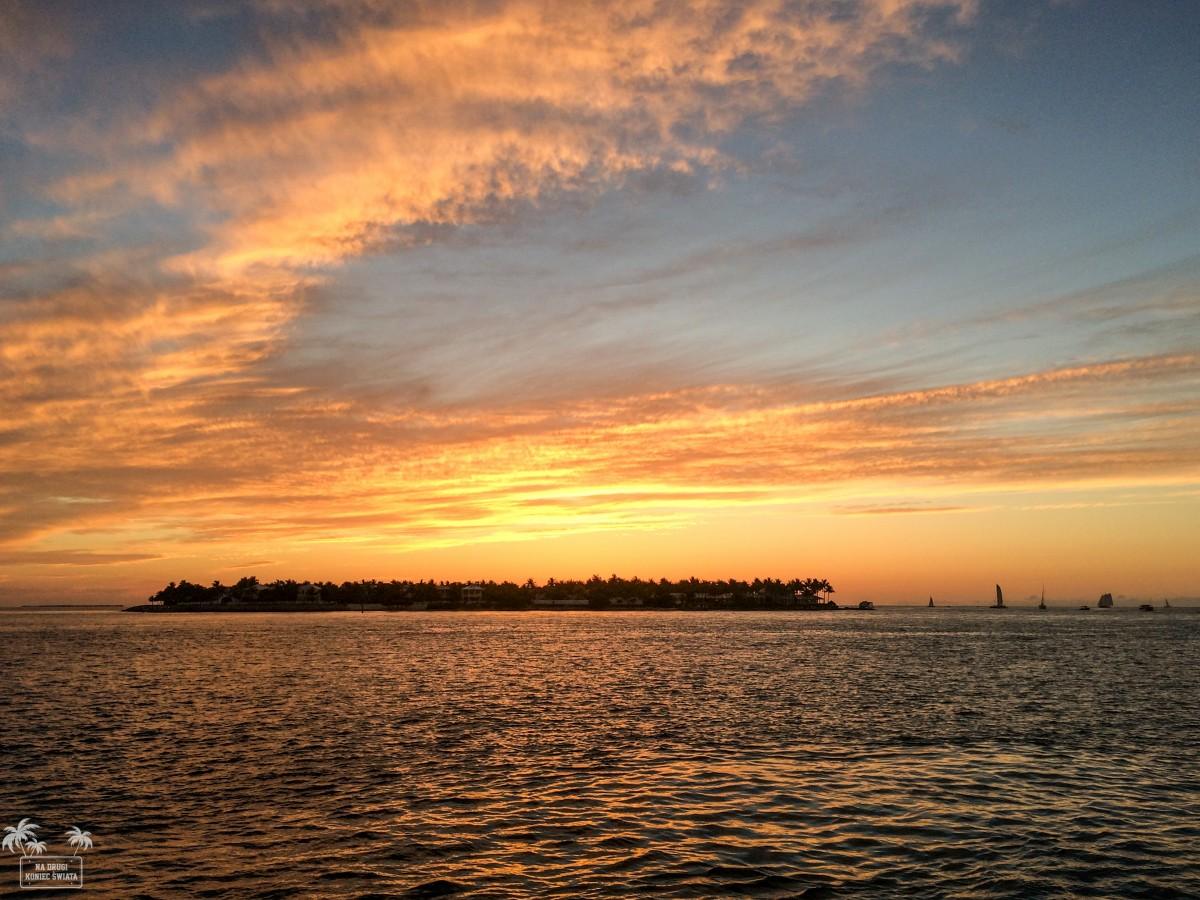 Zdjęcia: Key West, Floryda, Zachód słońca na Florida Keys, USA