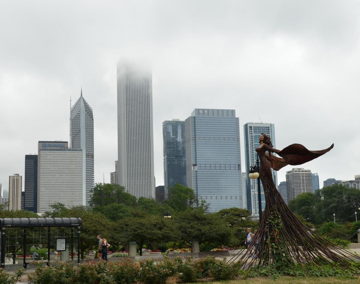 Zdjęcia: Chicago, stan Illinois, Drapacze chmur w Chicago, USA