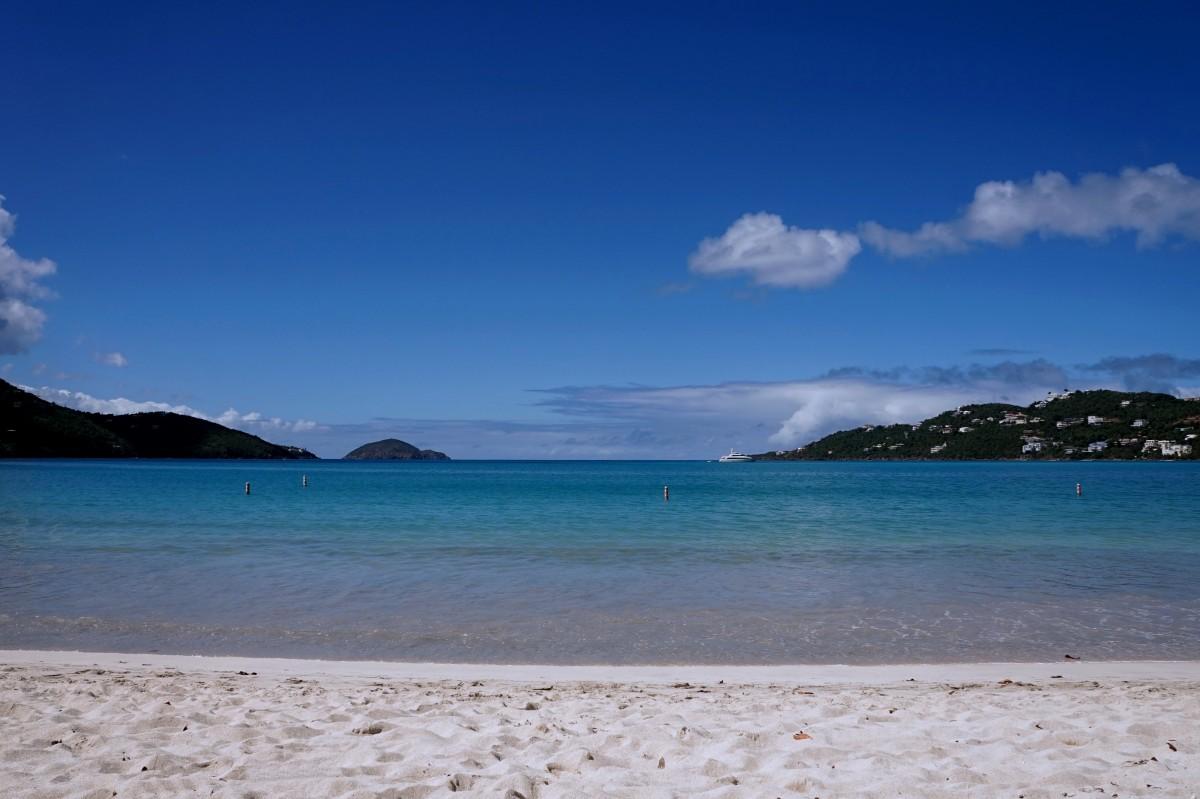 Zdjęcia: Wyspa Świętego Tomasza, Wyspy Dziewicze Stanów Zjednoczonych, Magens Bay, USA