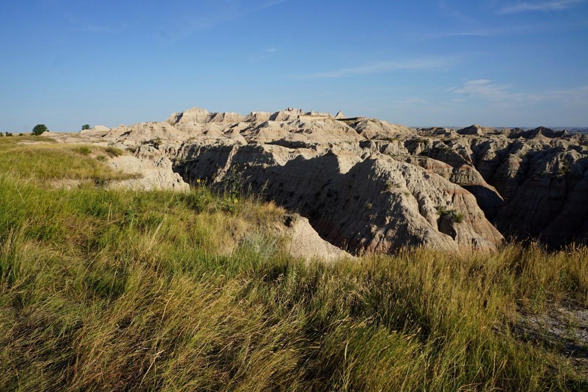 Zdjęcia: Park Narodowy Badlands, Południowa Dakota, Po drodze, USA
