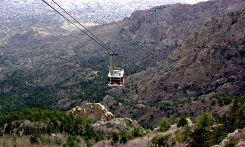 Zdjecie USA / - / Nowy Meksyk / Sandia Mountain / kolejka