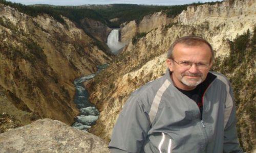 Zdjecie USA / Wyoming / Yellowstone NP / Yellowstone River Canyon