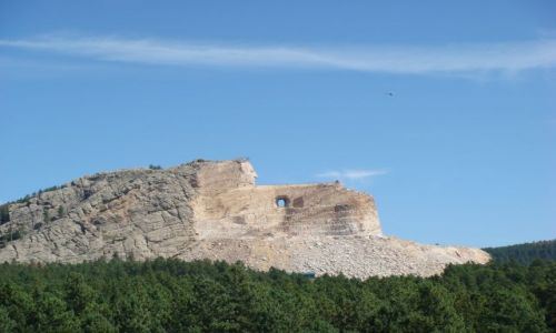 Zdjecie USA / South Dakota / Black Hills / Crazy Horse