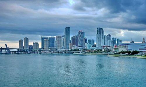 Zdjęcie USA / Floryda / Miami Beach / Panorama miasta Miami