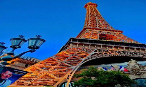 Zdjęcie USA / Nevada / Las Vegas / Wieża Eifla
