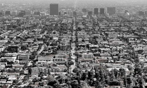 Zdjęcie USA / California / Los Angeles / Moloch z obserwatorium Griffitha