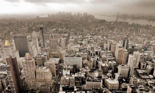 Zdjęcie USA / NY / NYC / Panoramka NYC