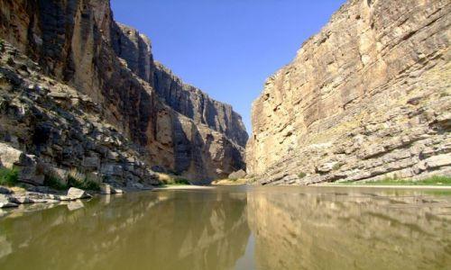 Zdjecie USA / - / Texas / Big Bend NP / Santa Elena Canyon / Santa Elena Canyon