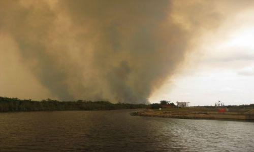 Zdjecie USA / Floryda / Everglades / tego nie przewidziały prognozy...