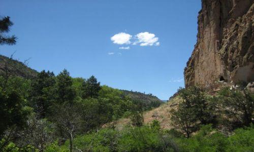 Zdjęcie USA / Nowy Meksyk / Bandelier National Monument / Bandelier NM