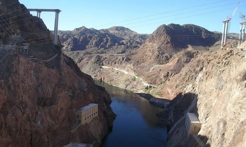 Zdjęcie USA / Arizona/Nevada / Zapora Hoovera / Zapora Hoovera