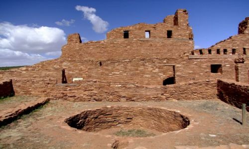 Zdjecie USA / - / Nowy Meksyk / Salinas Pueblo Missions / Nobody Expects The Spanish Inquisition