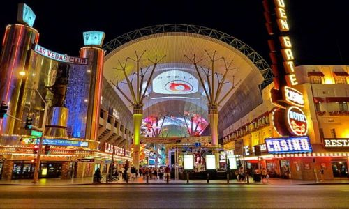 Zdjęcie USA / Nevada / Las Vegas / Legendarna Fremont Street